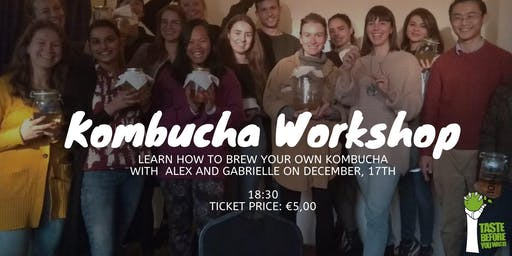 Brew your own Kombucha - Workshop