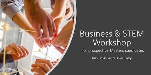 Business & STEM Workshop: Taipei