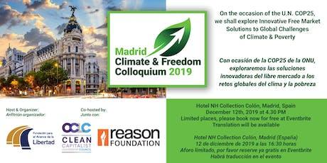 Madrid Climate & Freedom Colloquium tickets