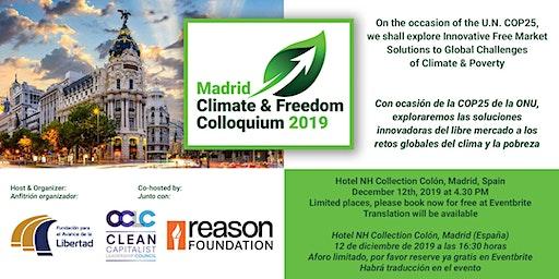 Madrid Climate & Freedom Colloquium