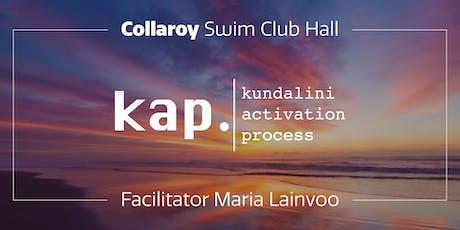 KAP Collaroy – Kundalini Activation Process – Open Class tickets