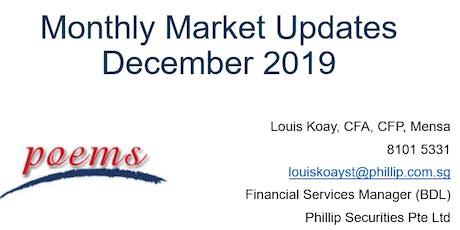 [Investment] Monthly Market Updates - December 2019 tickets