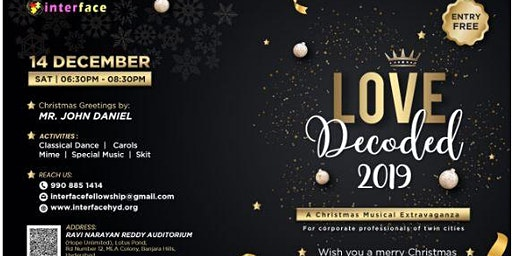 Love Decoded'19-Christmas Musical Extravaganza