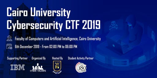 Cairo University Cybersecurity CTF 2019