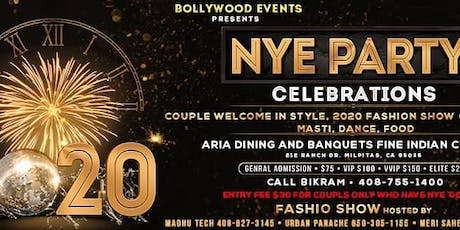 2020 NYE Party tickets