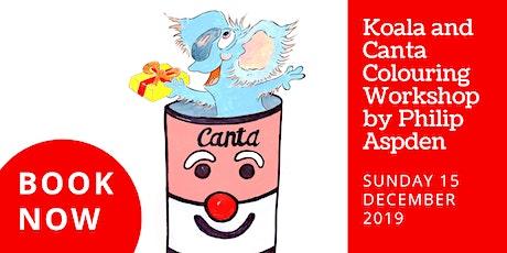 Koala and Canta Colouring Workshop tickets