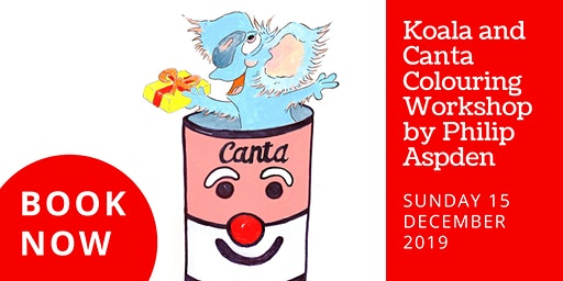 Koala and Canta Colouring Workshop