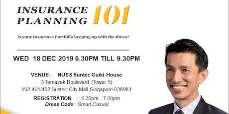 Insurance Planning 101 tickets