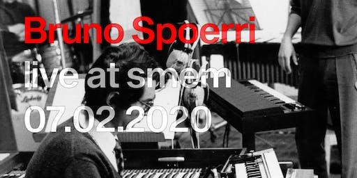 Bruno Spoerri Talk + Concert