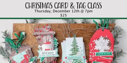 Christmas Cards & Tags CLASS