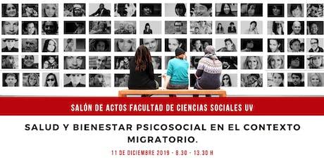 SALUD Y BIENESTAR PSICOSOCIAL EN EL CONTEXTO MIGRATORIO. entradas