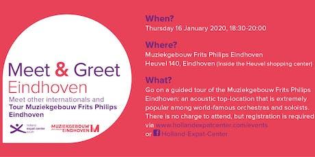 Meet & Greet @ Muziekgebouw Eindhoven: January 2020 tickets