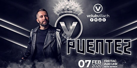 David Puentez LIVE @ V-Club Villach  Tickets