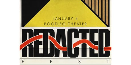 Redacted Fest tickets