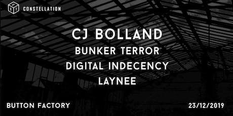 Constellation 1 Year Birthday: CJ Bolland tickets