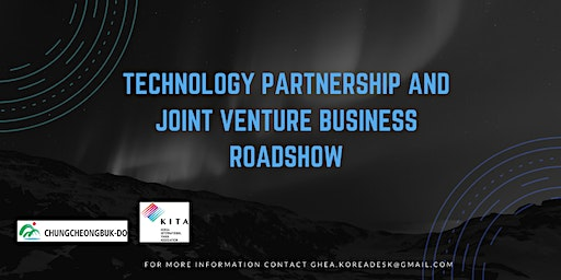 Technology Partnership & Joint Venture Business Roadshow
