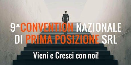 9^ CONVENTION NAZIONALE di Prima Posizione biglietti
