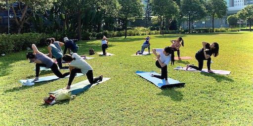 Free Community Yoga at Tamar Park ! ✨