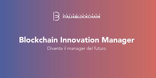 CORSO BLOCKCHAIN INNOVATION MANAGER_Milano | Gennaio 2020