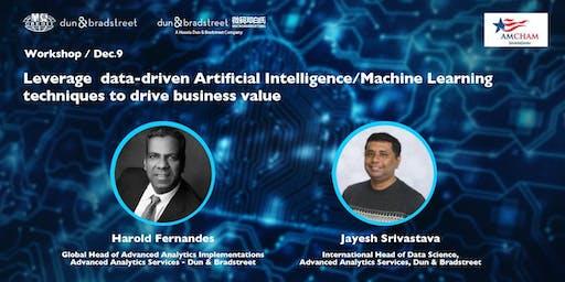 Leverage data-driven AI/ML to drive business value