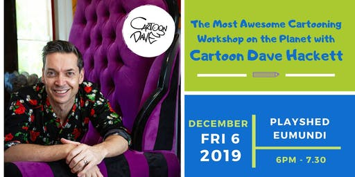 The Most Awesome Cartooning Workshop on the Planet