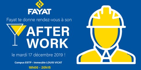 AFTERWORK FAYAT tickets