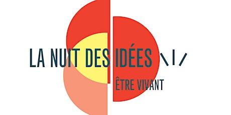Nuit des Idées 2020 billets