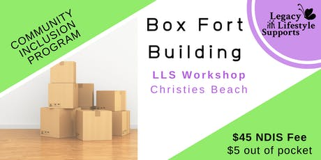 Box Fort Building tickets