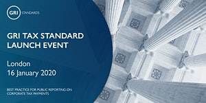 GRI Tax Standard Launch Event