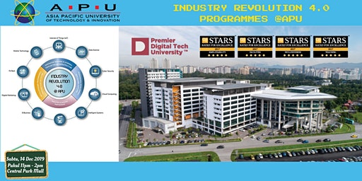 Info Sesi Industry Revolution 4.0 Program di APU Malaysia