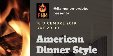 American Dinner Style tickets