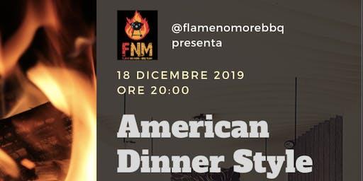 American Dinner Style