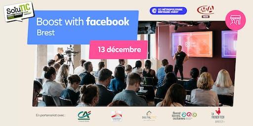 Inscription Boost with Facebook avec Solutic