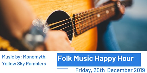 Folk Music Happy Hour