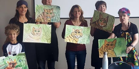Paint a Tiger holiday workshop tickets