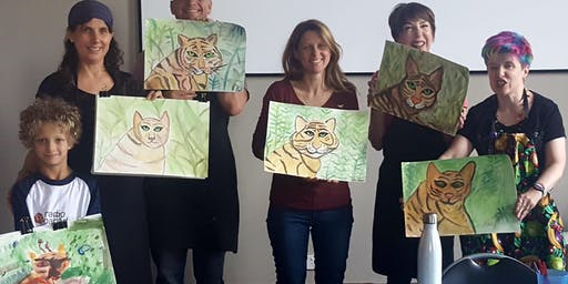 Paint a Tiger holiday workshop