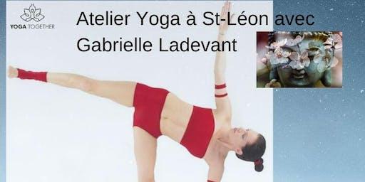 Yoga Vitalité et Equilibres avant Noël à St Léon