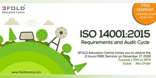 FREE Seminar: ISO 14001:2015 Requirements and Audit Cycle