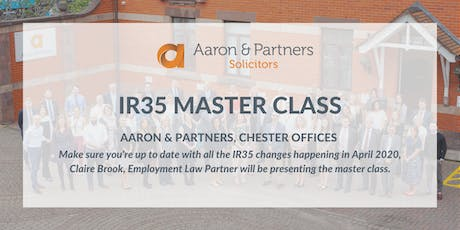 IR35 Employment Law Master Class tickets