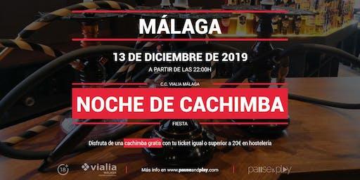 Evento Noche de cachimba en Pause&Play Vialia Málaga