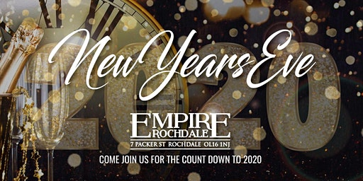 New Years Eve @ Empire Rochdale