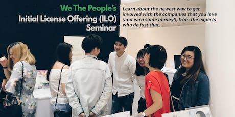 We The People ILO Seminar tickets