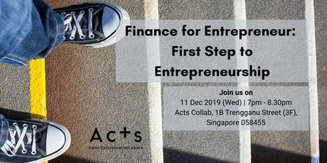 Finance for Entrepreneur: First Step to Entrepreneurship tickets