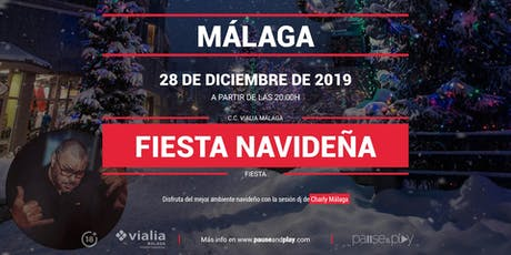 Evento Fiesta navideña con Charly Málaga en Pause&Play Vialia Málaga entradas
