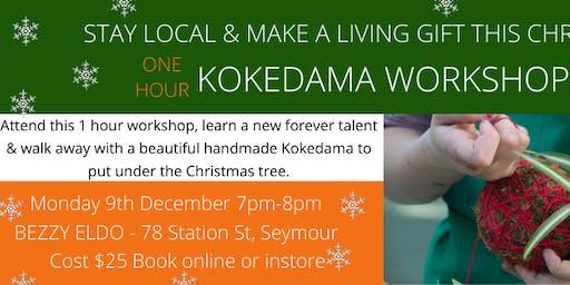Kokedama Workshop