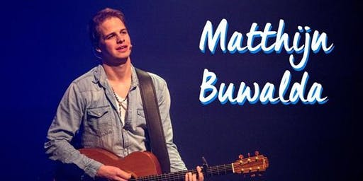 Concert Matthijn Buwalda: Wat als ik struikel?
