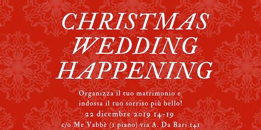 Wedding Christmas Happening