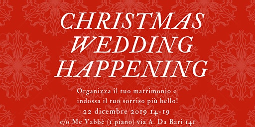 Wedding Christmas Happening