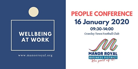 Manor Royal People Conference 2020 tickets