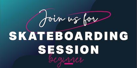 Women's Beginner Skateboarding Session tickets